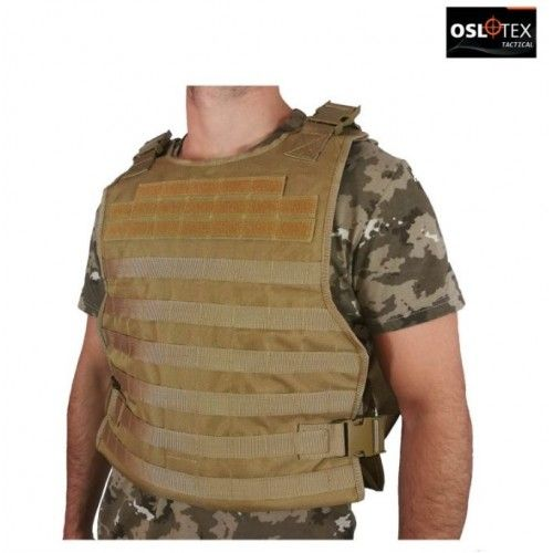 PLATE CARRIER ASALTO TÁCTICO SIMPLE COYOTE