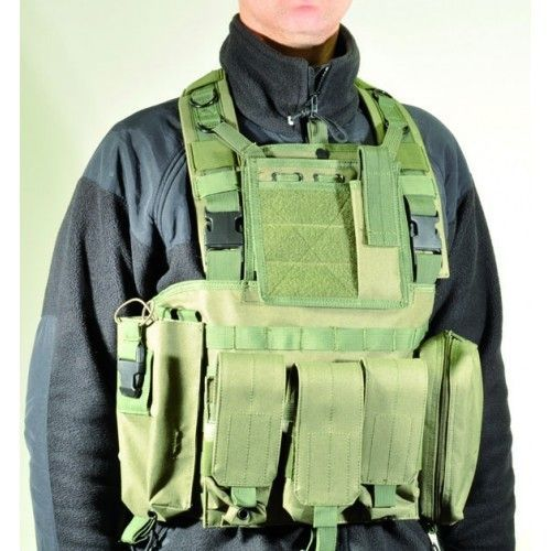 CHEST RIG SWISS ARMS VERDE OLIVA